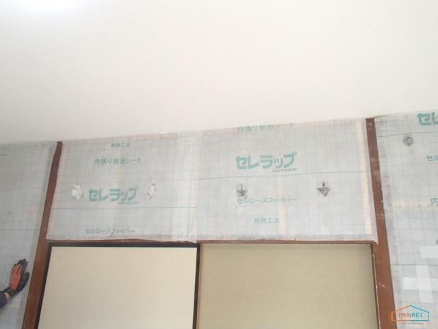 壁の断熱材